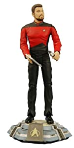 Diamond Select Toys Star Trek The Next Generation Series 1 Action Figure Commander William T. Riker (Season 7)