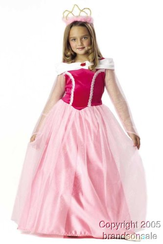 Kid's Pink Sleeping Beauty Costume (Size:Medium