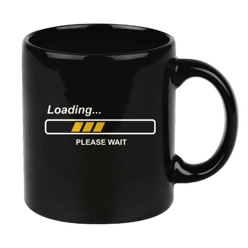 Shopping!: Taza Geek LOADING PLEASE WAIT