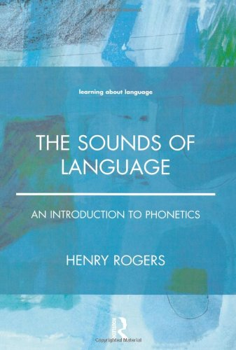 The Sounds Of Language: An Introduction To Phonetics front-1045569