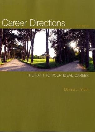 Career Directions: The Path to Your Ideal Career