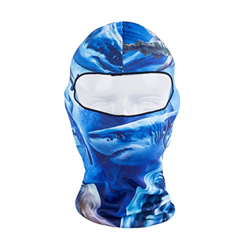 Maoko Camo Sports Thin UV Protective Windproof Face Mask- Motorcycle Cycling Skull Balaclava (Navy Seal Balaclava compare prices)