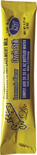 Sqwincher 060152-La Qwik Stik, 20 Oz Yield, Lemonade Flavor (Case Of 20)
