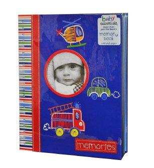 Baby Essentials Transportation Memory Book - 1