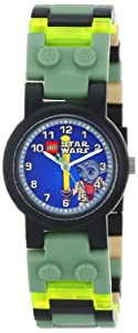 LEGO Kids' 9002076 Star Wars Yoda Watch