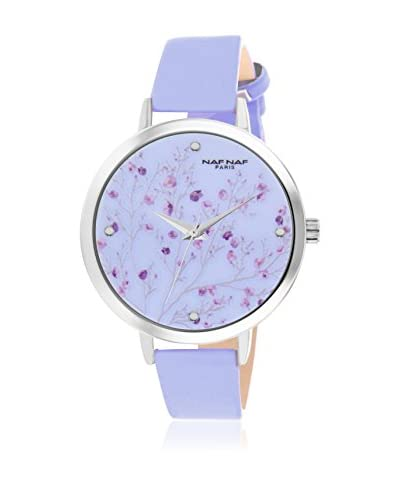 Naf Naf Orologio con Movimento al Quarzo Giapponese Woman N10752-214 38 mm