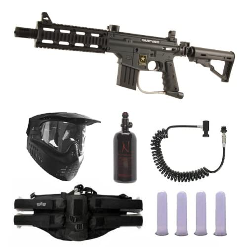 Tippmann US Army Project Salvo Paintball Gun Marker Remote N2 Package by Tippmann Paintball