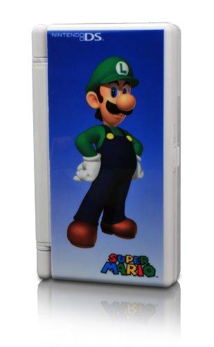 Nintendo DS, DS Lite - Mega Game Case Luigi, weiß, Nintendo DS