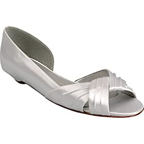 flat wedding shoes, silver bridal shoes