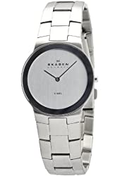 Skagen Men's O430LSX Stainless Steel Band With Silver Dial Watch