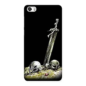 Warrior Sword Back Case Cover for Honor 6
