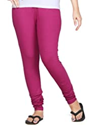 Clifton Women Stretch Cotton Legging - Magenta