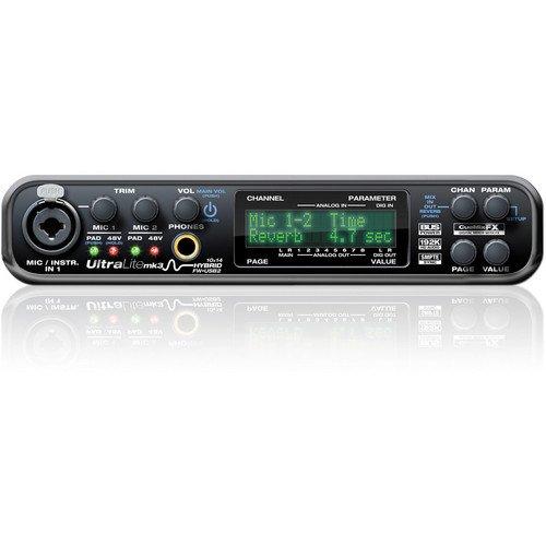 MOTU UltraLite-MK3 Hybrid FireWire/USB2 Audio Interface