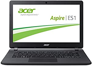 Acer Aspire ES1-111M-C56A 29,5 cm (11,6 Zoll) Notebook (Intel Celeron N2840, 2,1GHz, 2GB RAM, 32GB eMMC, Intel HD Graphics, Win 8.1 mit Bing) schwarz