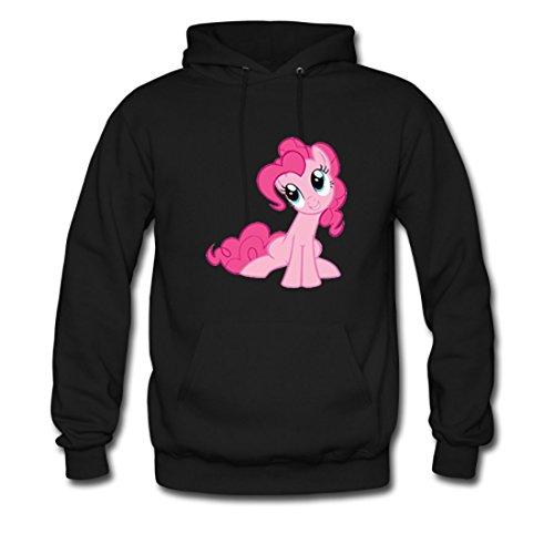 LARger Cute Pinkie Pie Gildan Hoodie Sweatshirt Black (NEW) L (Hoodie Pinkie Pie compare prices)