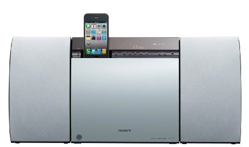 Sony CMTCX5BIP 40 Watt Slim Hi-Fi System with iPod/iPhone Dock and DAB/DAB+ - White