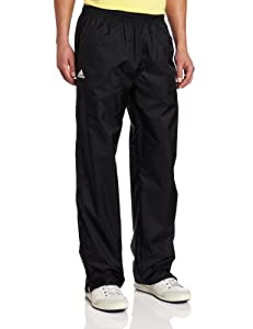 Adidas Golf Men's Climaproof Rain Provisional Pant, Black/White, Medium