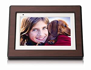 HP DF750 7-Inch High Resolution Digital Picture Frame with Remote
