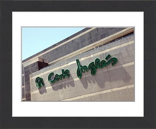 framed-print-of-el-corte-ingles-leon