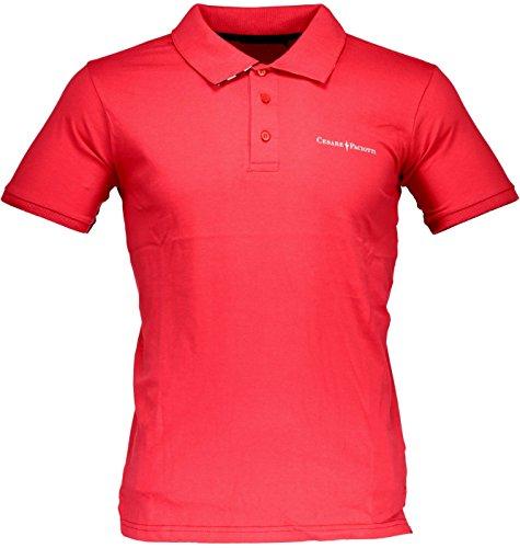 cesare-paciotti-herren-poloshirt-mehrfarbig-rot-medium