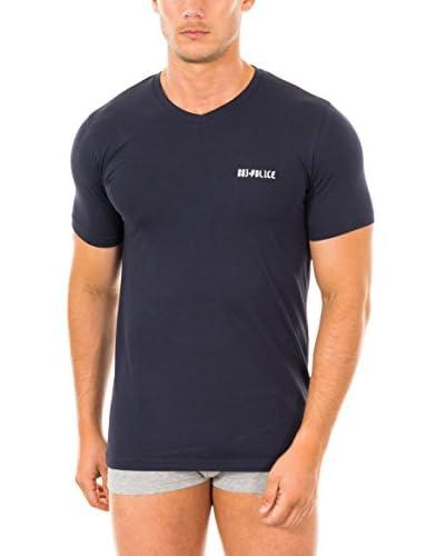 883 Police T-Shirt Manica Corta Essential  [Blu Navy]