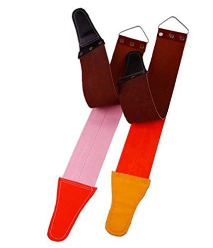 Leather Strop Knife Sharpening