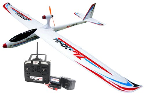 SkyRider 742-4 4CH 2.4GHz Brushless Electric RTF Remote Control RC Airplane (Color May Vary)