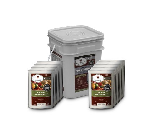 Wise Company 60 Serving Entrée Only Grab and Go Food Kit (13x9x10-Inch, 13-Pounds)