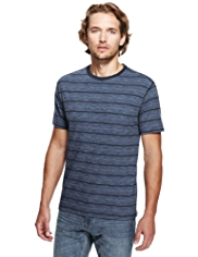 North Coast Pure Cotton Varied Striped T-Shirt