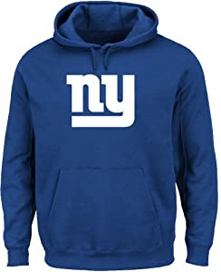 New York Giants Royal Telepatch Hooded Sweatshirt by VF by VF