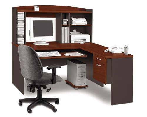 Buy Low Price Comfortable L Shaped Computer Desk (B002Y2HF6Y)