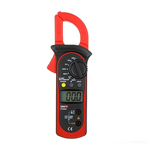 UNI-T UT200A Digital Clamp Meter LCD Backlight AC/DC Voltage AC Current Resistance