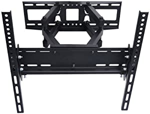 "VideoSecu Articulating TV Wall Mount Bracket for 26""-55"" LCD LED Plasma 3D TV with VESA up to 400x400, Full Motion Tilt Swivel Dual Arms BD4 from VideoSecu"