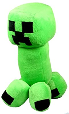 12 Plush Minecraft Creeper Doll by FH Store