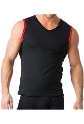 Men's High-Tech Micromesh Muscle Shirt by Gregg Homme
