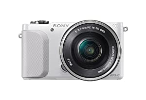 Sony NEX-3NL/W Compact Interchangeable Lens Digital Camera Kit (White)