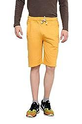 Yellow Terry Shorts Medium