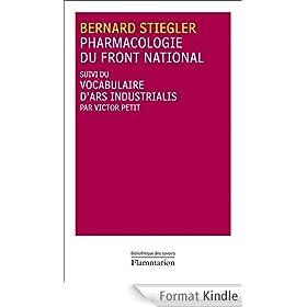 Pharmacologie du Front national: suivi du vocabulaire d'ars indistrualis