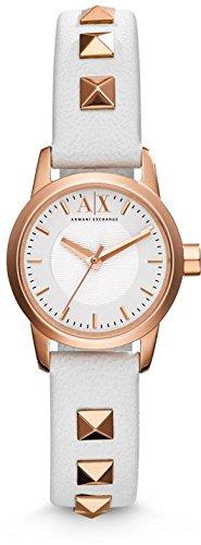 Armani Exchange Leather Ladies Watch AX6020
