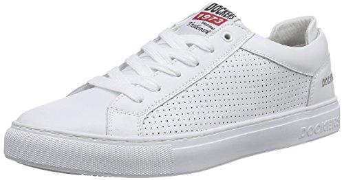 Dockers by Gerli 38TB002-100, Herren Sneakers, Weiß (weiss 500), 46 EU thumbnail