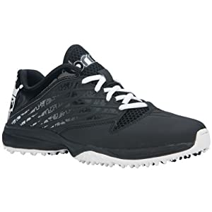 Brine Empress Black Ladies Turf Lacrosse Cleats - 9.5 by Brine