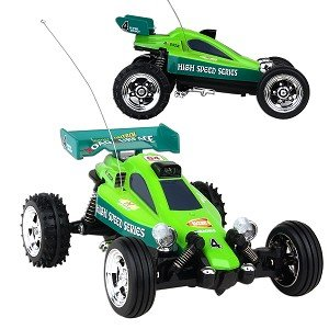 Mini Buggy Radio Controlled Car - Colors Vary