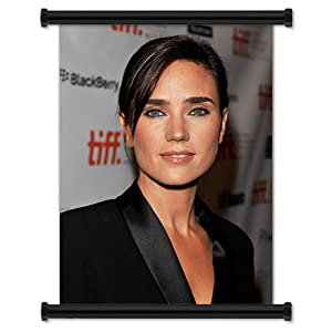 Jennifer Connelly Sexy Hot Hollywood Actress Fabric Wall Scroll Poster