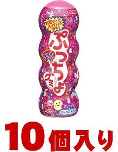 ユーハ味覚糖 ぷっちょグミぶどう32g×10個入(1ケース納品)