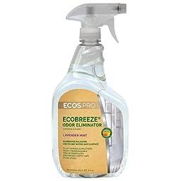 32 oz. Earth Friendly Products ECOSTM PRO EcoBreezeTM Odor Eliminator, Lavender Mint (6 Bottles/Case) - BMC-EFP PL9836/6