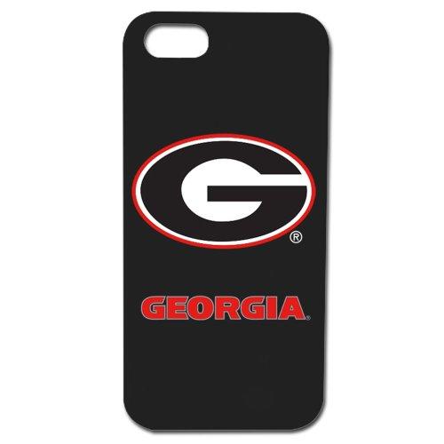 Georgia Bulldogs - Case for iPhone 5 / 5s - Black (Bulldog Iphone 5s compare prices)
