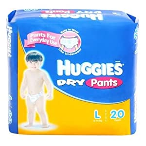 Huggies Dry Pants L 20 Pcs