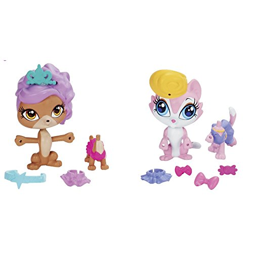 Littlest Pet Shop Backstage Beauties Pet Pair
