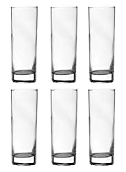 Arcoroc Glass Water Tumbler, 310 ml, Set of 6, Clear