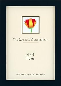 Dennis Daniels W41 Ebony 4x6 Wood Frame